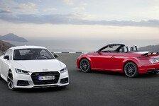 Audi bringt den TT als sportliches Sondermodell S line competition heraus