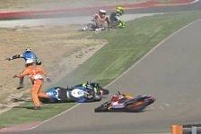 Marc Marquez eine Gefahr? Harte Kritik an Repsol-Honda-Pilot nach Aragon-Crash