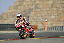 MotoGP - Marquez fliegt im Warm-Up, Lorenzo crasht