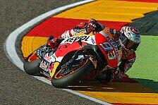 Live-Ticker MotoGP: Rossi und Marquez kämpfen in Aragon