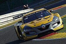 Robert Kubica in der Renault Sports Trophy in Spa auf dem Podest