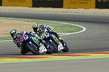 Valentino Rossi hadert: Angriff auf Yamaha-Kollege Jorge Lorenzo war zu riskant
