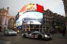 WEC - Bilder: London: Porsche-Showrun mit Mark Webber