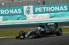 Mercedes simulierte im Training von Malaysia eine Strafe gegen Nico Rosberg