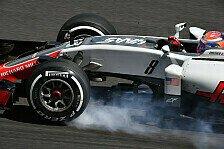 Haas hatte beim Formel-1-Rennen in Malaysia erneut mit Problemen zu kämpfen