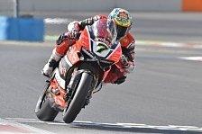Chaz Davies hat auch das zweite Rennen der Superbike WM in Katar gewonnen