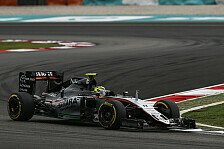 Sergio Perez äußert sich über seinen neuen Vertrag bei Force India für 2017