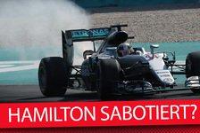Formel 1 - Lauda: Hamilton-Sabotage wäre lächerlich und dumm