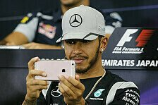 Snapchat und Twitter: Hamiltons Suzuka-Eskapaden