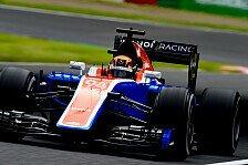 Manor-Debütanten Pascal Wehrlein und Esteban Ocon: Suzuka-Premiere geglückt