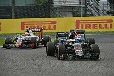 Formel 1 - Die größten Japan-Verlierer: McLaren und Haas