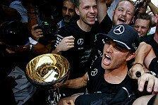 Nach Japan-Sieg: Rosberg schon Weltmeister?