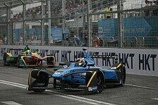 Sebastien Buemi gewinnt das Auftaktrennen in Hongkong