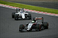 Perez: Unser Auto ist in Abu Dhabi ziemlich gut