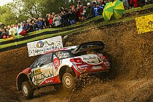 WRC - Video: Rallye Spanien: Kris Meekes Überschlag auf WP2