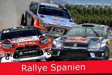 Ticker: News-Splitter live von der Rallye Spanien 2016