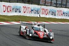 WEC-Rennen in Japan: Toyota triumphiert daheim am Fuji vor Audi und Porsche