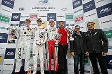 Formel 3 EM - Hockenheim: Komplettes Podest in Prema-Farben