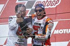 MotoGP - Bilder: Japan GP - So feiert Marquez seinen Titelgewinn