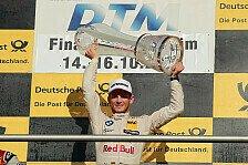Marco Wittmann steht nach seinem Titelgewinn in den Geschichtsbüchern der DTM