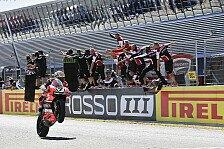 WSBK Jerez 2016, Rennen 1: Davies fährt den Kawasakis auf und davon