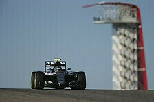 Hamilton legt in Austin vor, Rosberg zieht nach: Kopf-an-Kopf-Duell am Freitag