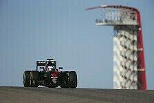 Beim US GP der Formel 1 in Austin zeigte McLaren einen guten Freitag