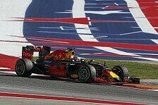 Red Bull schwingt sich beim Formel-1-Rennen in Austin zum Mercedes-Jäger auf