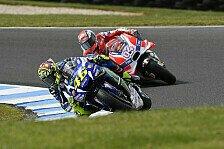 Andrea Dovizioso fürchtet: Kampf mit Rossi um WM-Rang zwei