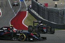McLaren brachte beim US GP der Formel 1 in Austin beide Autos in die Punkte