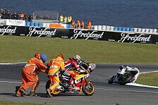 MotoGP Phillip Island 2016: Die wichtigsten Crashes in Bild und Video