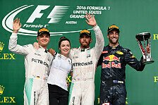 Formel 1 - Bilder: US GP - Podium