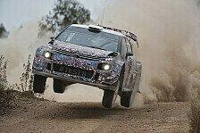WRC - Bilder: Citroen testet 2017er WRC-Boliden