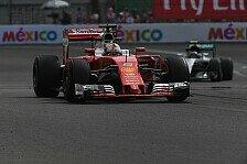 Formel 1 - Ferrari vor Mercedes: Was ist möglich in Mexiko?