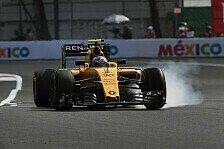 Formel 1 - Palmer und Nasr fallen den Kerbs zum Opfer
