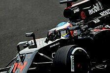 McLaren-Piloten Alonso und Button wollen in Mexiko auch ohne Q3 in die Punkte