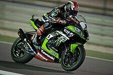 Jonathan Rea holt die Pole Position beim Superbike-Finale in Katar
