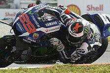 Lorenzo holt erste Bestzeit, KTM debütiert in Valencia