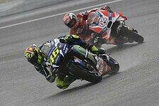 Valentino Rossi holt sich Reihe zwei im Qualifying vom Malaysia GP