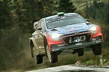 WRC - Video: Podiumsduell der Hyundai-Piloten in Wales noch nicht entschieden