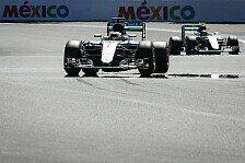 Rosberg vs. Hamilton: Nadelstiche im Mexiko-WM-Duell