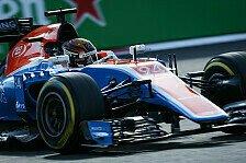 Manor-Pilot Wehrlein will Sauber in Mexiko notfalls mit Undercuts bezwingen