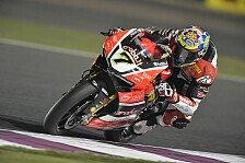 Chaz Davies hat den Saisonabschluss der Superbike in Katar gewonnen