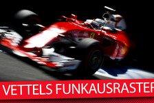 Jammern, Klagen, Schimpfen: Sebastian Vettels Funk-Chronik bei Ferrari 2016