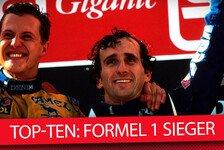 Die Top-10 der Formel-1-Sieger: Lewis Hamilton jagt Michael Schumacher