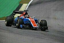 Brasilien-GP: Manor-Pilot Pascal Wehrlein mit verkorkstem Freitag in Interlagos