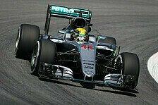 WM-Duell Rosberg vs. Hamilton: 1. Brasilien-Runde geht an den Weltmeister