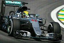 2. Training zum Brasilien GP: Hamilton vorn - Ärger für Räikkönen?