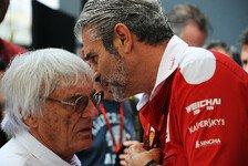 Formel 1 mit Budgetgrenze? Ecclestone fürchtet Ferrari-Ausstieg