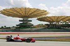 Formel 1 - Ein zufrieden stellender Tag für Toyota